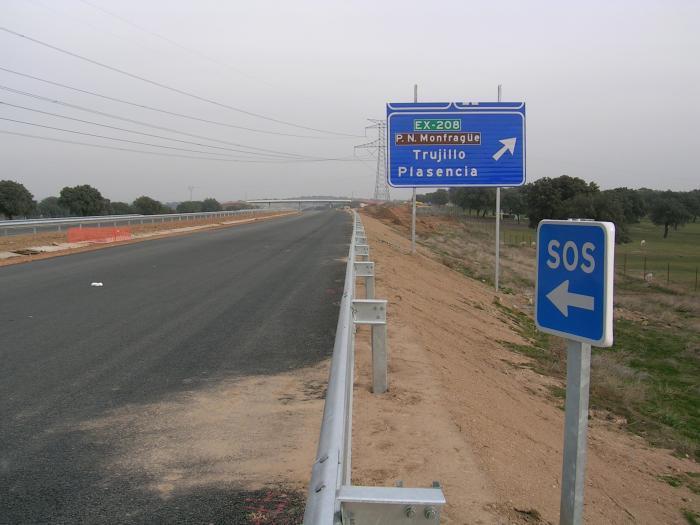 La consejería de Fomento adjudica los tramos de autovía Plasencia-Galisteo y Galisteo-El Batán