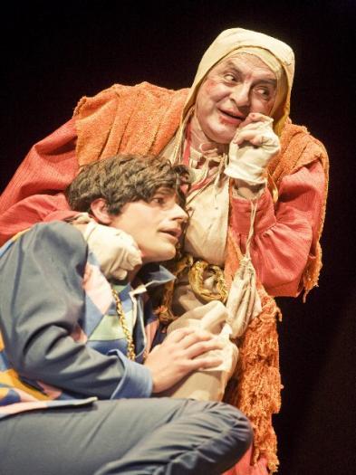 La compañía Teatro Clásico de Sevilla muestra 'La Celestina' en el Conventual de San Benito de Alcántara