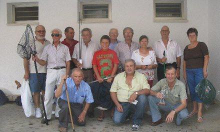 Luis Presumido gana el concurso de pesca de jubilados y veteranos San Buenaventura 2010