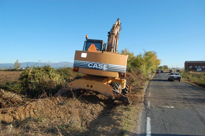 La Confederación del Tajo mejora la carretera de La Moheda para evitar inundaciones