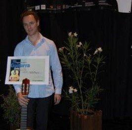 El francés Damien Lancelle se hace con el primer premio del concurso del Festival de Guitarra Clásica de Coria