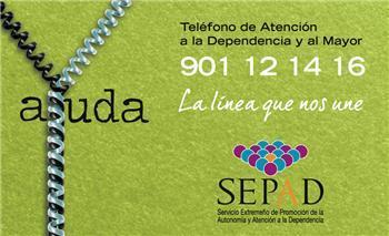 El Teléfono de Atención a la Dependencia del SEPAD ha recibido más de 8.000 llamadas desde su inicio