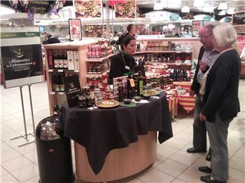 La marca promocional 'Alimentos de Extremadura' aterriza en Alemania para mostrar sus productos