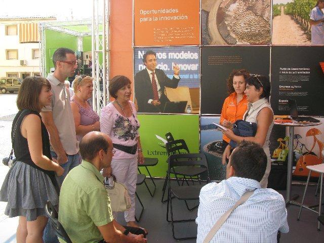 Moraleja despide la acción ExpoParticipación 2010, que viaja este jueves a la ciudad de Coria