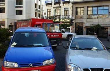 Una cámara de vigilancia controlará en la plaza de España de Badajoz los aparcamientos indebidos