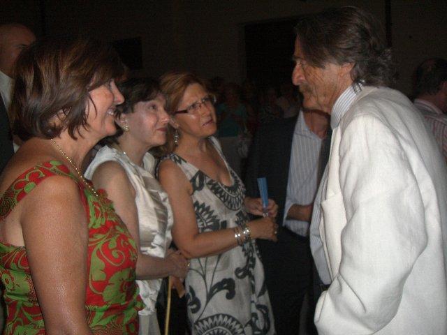 """Carmen Heras participó anoche en la entrega de los premios """"Diálogos de Culturas 2010"""""""