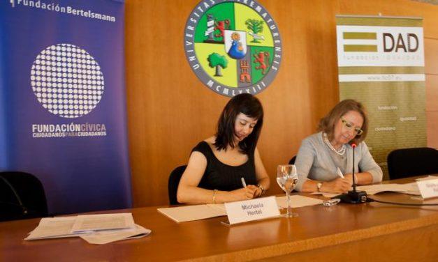 La Fundación Bertelsmann incorpora en su red a la Fundación Igualdad Ciudadana de Cáceres