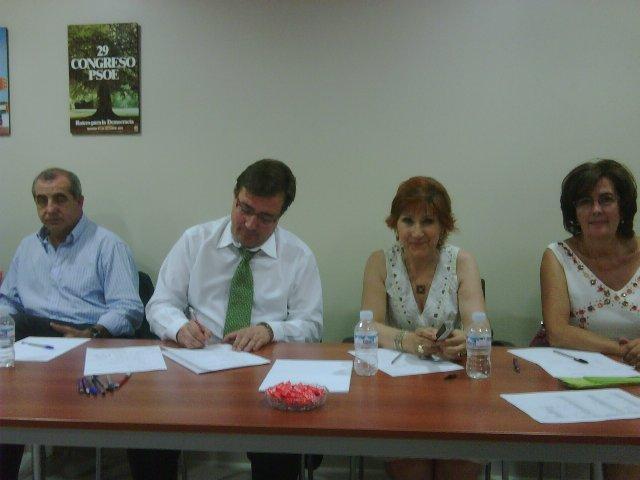 El PSOE de Cáceres designa a Carmen Heras como candidata a la alcaldía de la ciudad en 2011