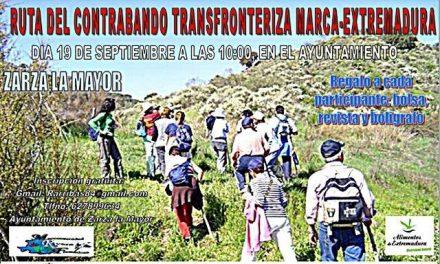 Zarza la Mayor acogerá este próximo domingo la Ruta Transfronteriza del Contrabando