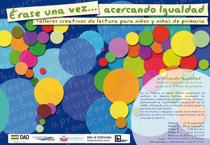 La Biblioteca Pública de Cáceres acoge talleres creativos de animación a la lectura para escolares