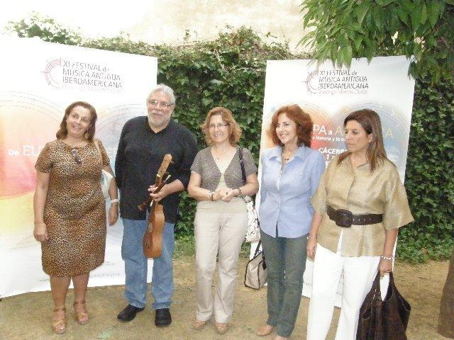 El IX Festival de Música Antigua Iberoamericana de Cáceres incluirá cine, conferencias, pasacalles