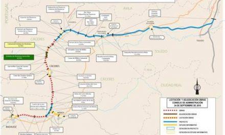Fomento destina 170 millones de euros a las obras de dos nuevos tramos de la Línea de Alta Velocidad