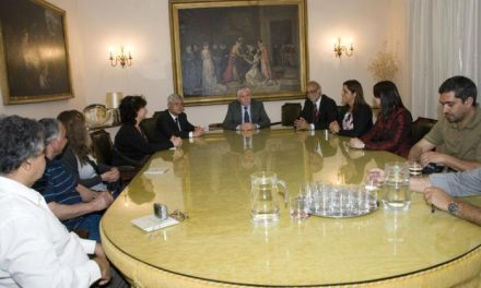 Una delegación chilena visita la Diputación y la provincia de Cáceres para conocer el territorio y sus proyectos