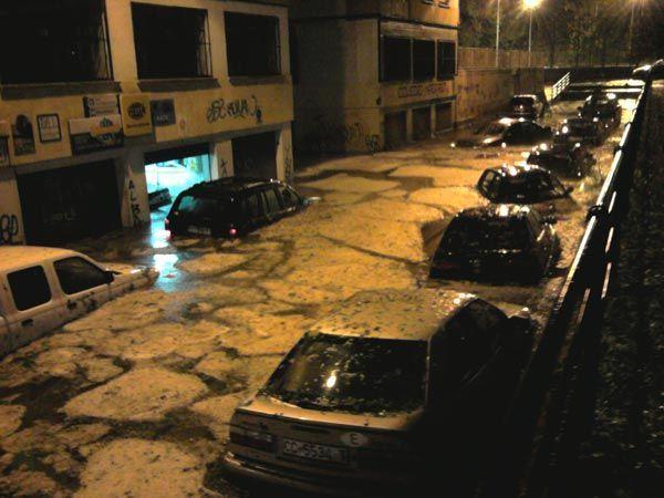 Los daños por la tormenta de Cáceres producidos en espacios públicos se acercan al millón de euros