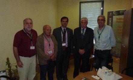 El geoparque extremeño Villuercas – Jara – Ibores se presenta en Grecia ante la Red Europea de Geoparques