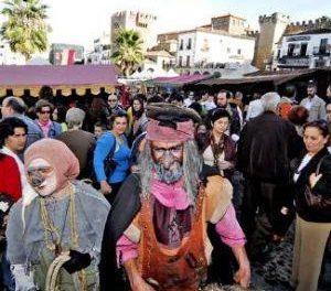 El mercado medieval de las Tres Culturas de Cáceres recibe 30.000 visitas en los cuatro días de celebración