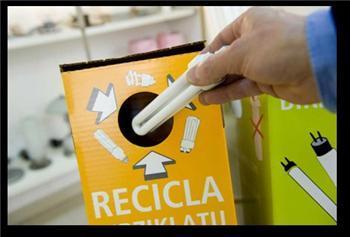 Extremadura dispone de más de 190 puntos de recogida para el reciclaje de las bombillas gastadas