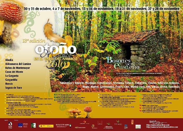 """El XIII Otoño Mágico del Valle del Ambroz se celebrará en noviembre dedicado a los """"Bosques de Ensueño"""""""
