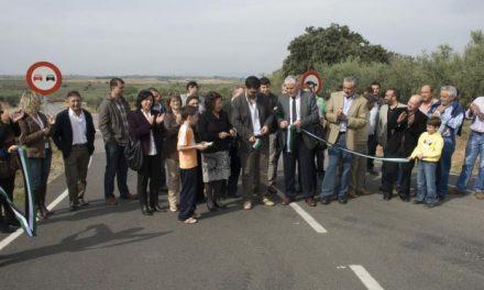 La Diputación de Cáceres inaugura la carretera CC 10.1 entre Guijo de Galisteo y Guijo de Coria