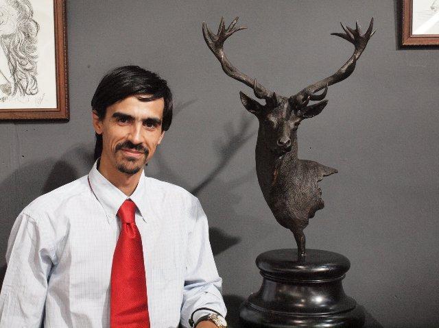 Víctor Campón expone en Cáceres su colección 'Del campo al bronce' hasta el próximo 4 de noviembre