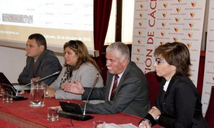 La Diputación de Cáceres renueva su portal de internet y presenta una página «moderna y eficaz»