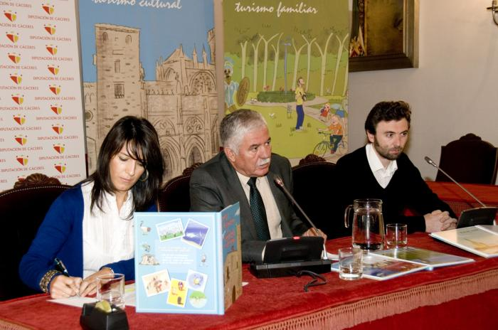 La Diputación publica un Atlas Ilustrado de la provincia cacereña dirigido a los más jóvenes