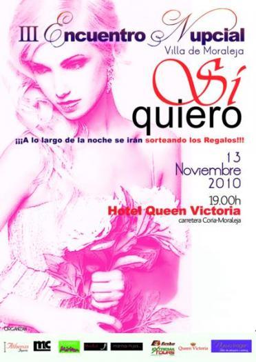 Moraleja acoge el sábado la III edición de la gala de novios con desfiles, regalos y un stand de peinado en vivo