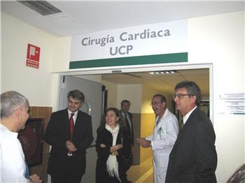 El Hospital Infanta Cristina de Badajoz inaugura la Unidad de Cirugía Cardiovascular
