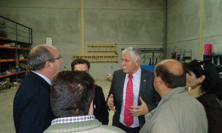 Aldeanueva del Camino inaugura cinco naves industriales con fondos de los Planes Provinciales