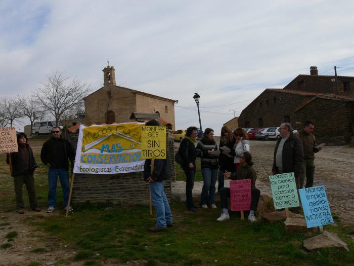 Ecologistas denuncia una nueva  montería en la finca Las Cansinas dentro del Parque de Monfragüe