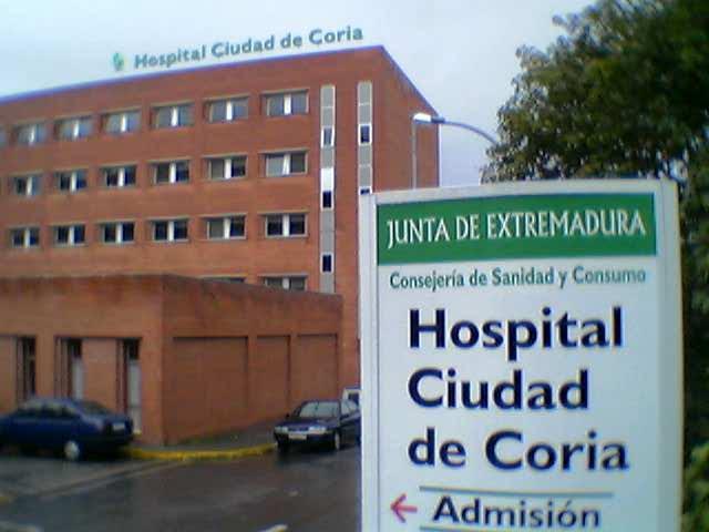 La planta de pediatría y la unidad de partos del hospital de Coria podrían ser cerradas a finales de diciembre