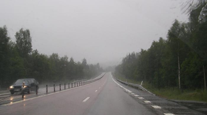 Las provincias de Cáceres y  Badajoz permanecerán en alerta amarilla por fuertes lluvias hasta el miércoles