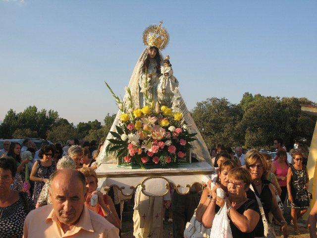 La Virgen de la Vega de Moraleja visitará este año todos los barrios de la localidad