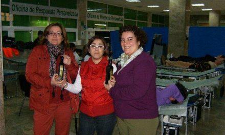 La Hermandad de Donantes de Cáceres logra 25 litros y 60 donaciones en la colecta de la DOP Gata-Hurdes