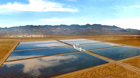 Las dos plantas solares termoeléctricas más grandes de Europa se instalan en la provincia de Badajoz
