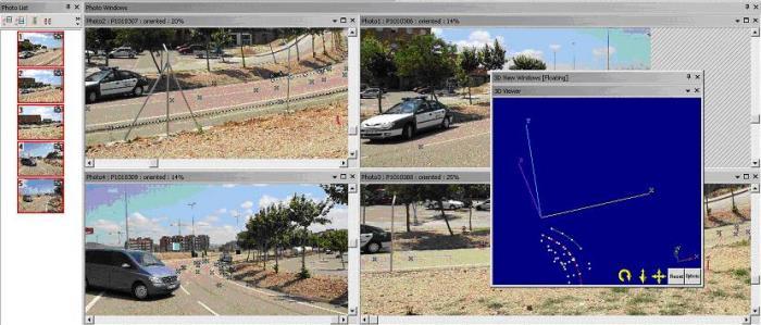 Un proyecto fin de carrera establece la fotogametría para la reconstrucción de accidentes de tráfico