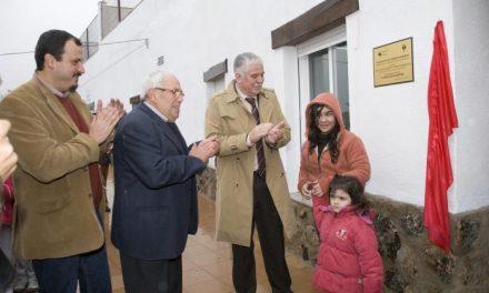 San Martín de Trevejo estrena un Salón de Usos Múltiples con una inversión de 86.000 euros