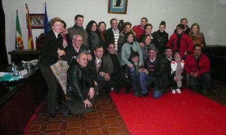 El abanderado de San Juan 2011 comenzará a preparar las fiestas de Coria después de la Navidad