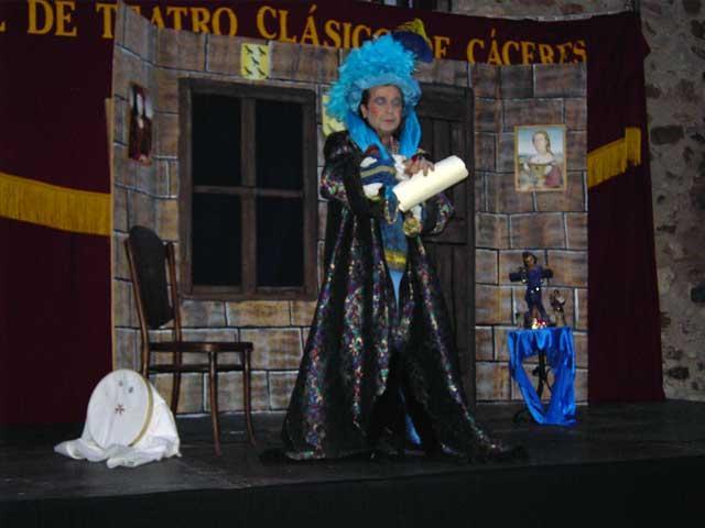 La Compañía de Teatro La Botika interpretará el jueves la obra Las Bodas de Doña Sol, la Fresca, en Coria