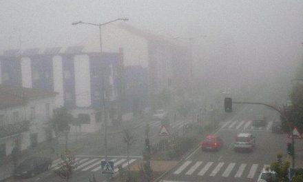 Las densas nieblas ocasionan incidencias en la circulación de las carreteras de la provincia cacereña