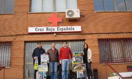 NN.GG Extremadura finaliza su campaña de recogida de juguetes, que este año serán repartidos por Cruz Roja