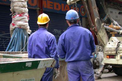 El paro castiga al sector de la construcción en la región con casi 2.000 parados más en el mes de diciembre