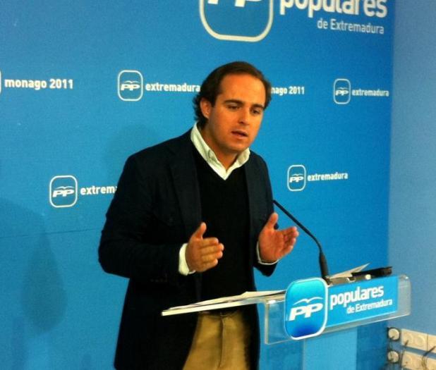 """Juan Parejo afirma que casos como el de Plasencia facilitarán el """"vuelco electoral"""" en la región"""