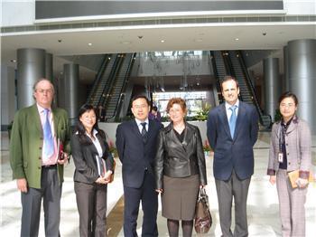 Dolores Aguilar visita el mayor parque tecnológico de China donde se han instalado ya unas 3.000 empresas