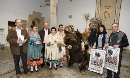 Acehúche congregará a más de 40 carantoñas esta semana durante la fiesta de San Sebastián