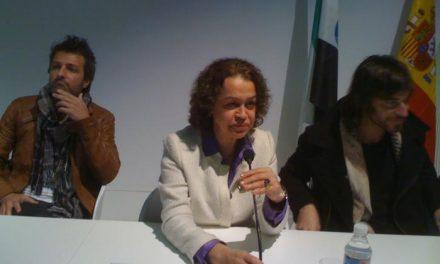 """Los actores de la serie """"Hispania"""" respaldan en Fitur el proyecto turístico de Extremadura"""