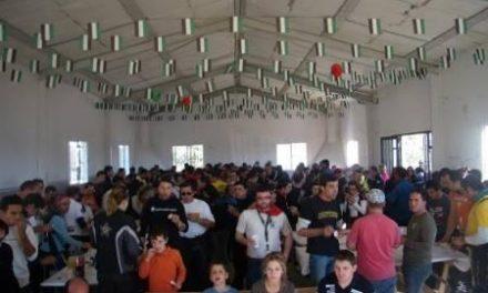 Unos 100 moteros de Extremadura y Salamanca se congregan en una concentración en Portaje