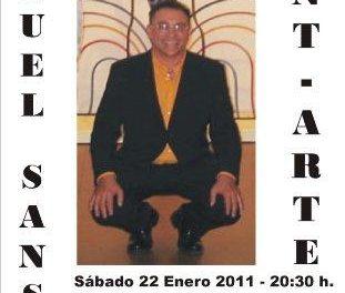 El artista Miguel Sansón, Medalla de Extremadura, expone su obra en forja en Zarza de Granadilla