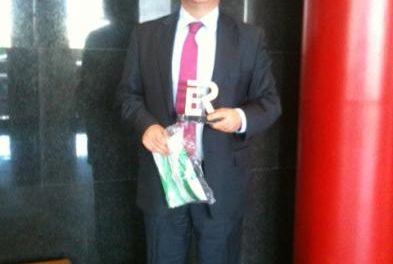 El Hotel Palacio Coria recibe un galardón de la entidad de certificación AENOR con motivo de la ISO 9001