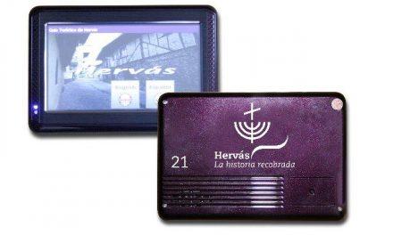 Hervás incorpora las nuevas tecnologías a la información turística con Audio Guías e información por Bluetooth